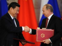 Ukraine pushes China and Russia together