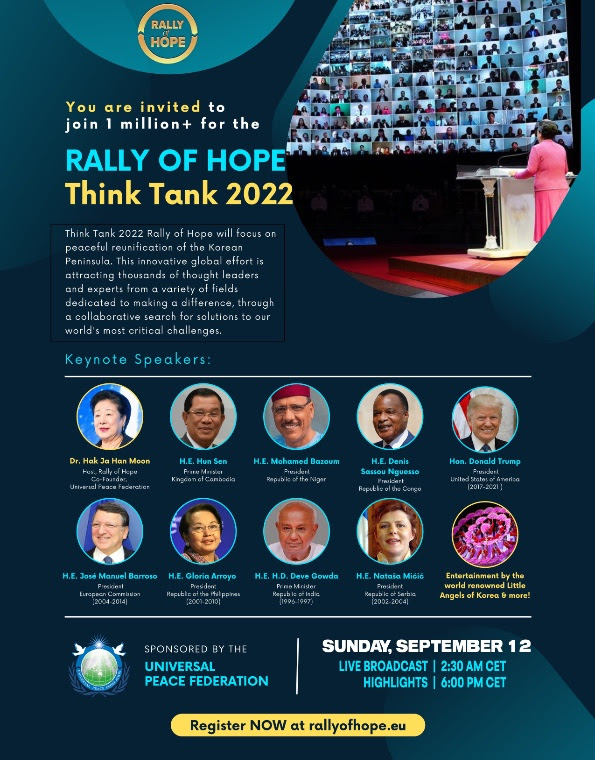Rally of Hope Think Tank 2022